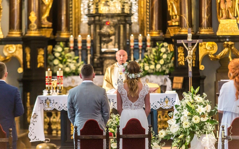 ślub w Sanktuarium Święta Lipka