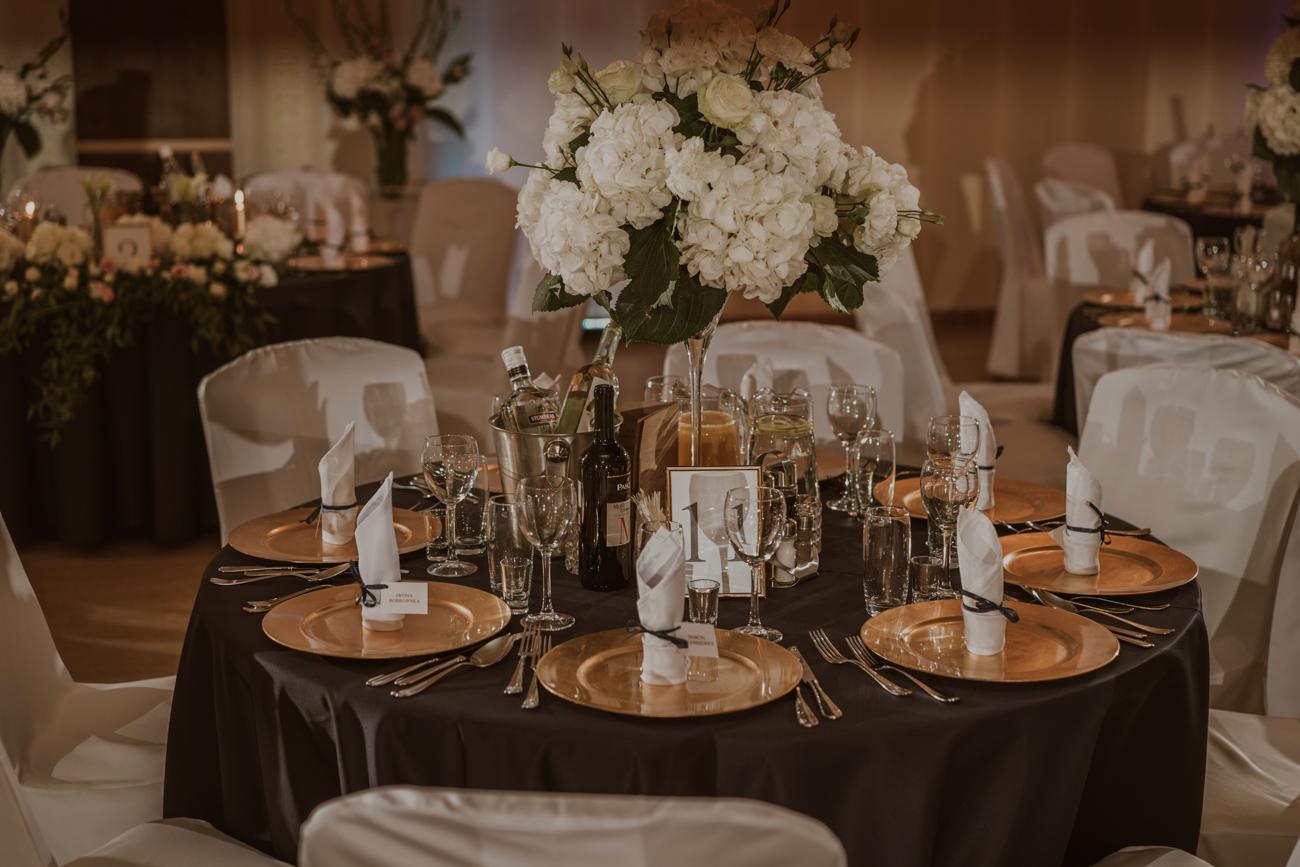 eleganckie i nowoczesne wesele