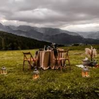 kolacja w górach