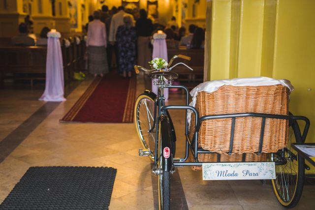 rower ślubny