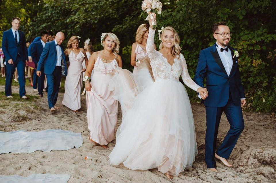 wesele na plaży